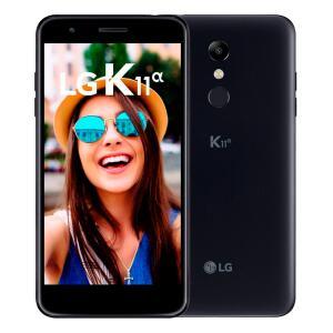 Smartphone LG K11 Alpha 16GB Preto LMX410BTW Tela 5,3 polegadas Dual Chip 4g - R$497