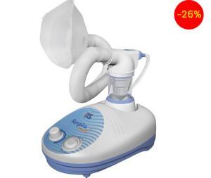 Inalador NS Ultrassônico Respiramax - Branco e Azul