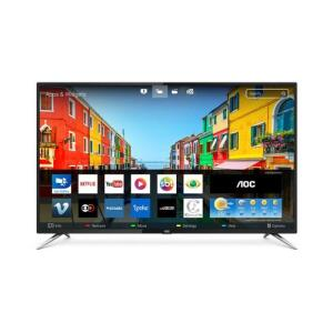 "Smart TV LED 50"" AOC LE50U7970S UHD 4K Wi-fi 4 HDMI USB | R$1.419"