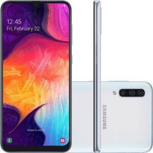 (APP + CARTÃO SHOPTIME+ AME) Smartphone Samsung Galaxy A50 64G por R$ 1149,21