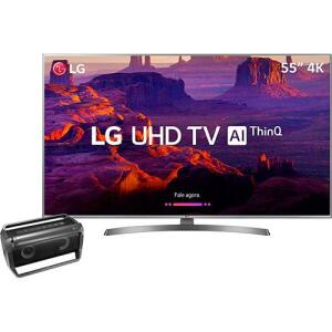 [Cartão Shoptime] Smart TV LED 55'' Ultra HD 4K LG 55UK6530 + Caixa Speaker Pk5 LG por R$ 2348