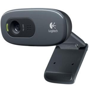WebCam Logitech C270 HD com 3 MP por R$ 90