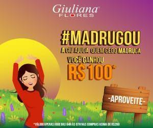 Madrugou Giuliana Flores
