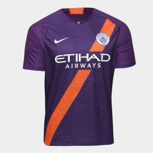 Camisa Manchester City Third 2018- R$149