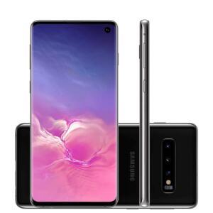 Smartphone Samsung Galaxy S10 Preto 128GB, 8GB RAM | R$2959