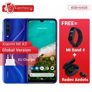 [Compra Internacional] Xiaomi MI A3 4 GB 64 GB + MI Band 4 + Redmi Airdots | R$: 1159