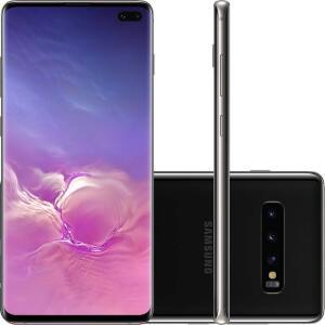 [R$3097 com AME] Smartphone Samsung Galaxy S10+ 128GB Dual Chip - Preto | R$3519