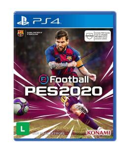 [R$120 com AME] Pré Venda | Game EFootball PES 2020 - PS4 | R$180