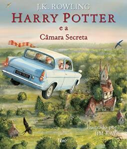 Harry Potter e a Câmara Secreta - Ilustrado (Português) Capa dura