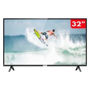 Smart TV 32 Polegadas LED HD TCL 32S6500S com Android e comando de voz