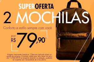 Duas Mochilas por 79,90
