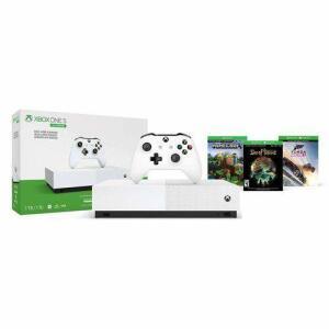 Console Xbox One S 1TB All - Digital Edition Sem Disco - Minecraft, Sea of Thieves - Forza Horizon 3 | R$1.199