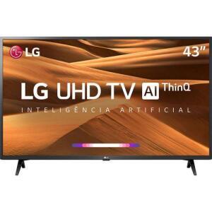"Smart TV Tela Led 43"" LG 43UM7300PSA R$ 1709"