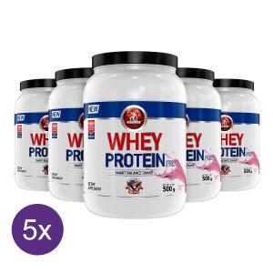 Kit 5x Whey Protein Pré Midway 500g