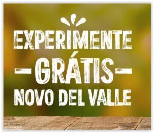 Experimente Grátis o Novo Dell Valle ( Até R$ 20 de volta)