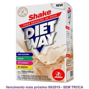 Diet Way Shake Substituto de Refeição 420 G | R$3