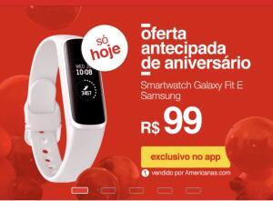 Relógio Smartwatch Samsung Galaxy Fit