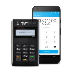 Maquininha Point Mini - A Máquina De Cartão Do Mercado Pago - R$4 + R$12 de Frete