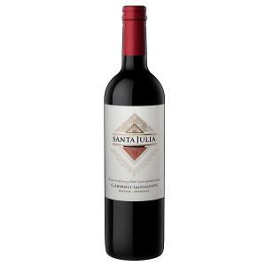 Vinho Argentino Tinto Cabernet Sauvignon SANTA JULIA Garrafa 750ml | R$24