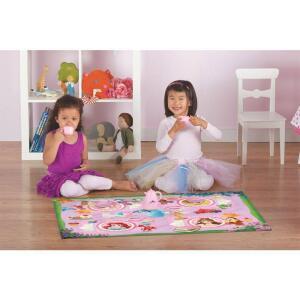 Tapete Infantil c/ Brinquedo Disney Chá Princesas R$40