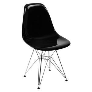 Cadeira Eames Side l Preta By Haus