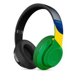 Fone De Ouvido Beats Studio Wireless, Unity Edition - Modelo Mmj02bz/a - Com Microfone - Cor Colorido