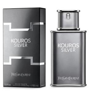 Perfume Kouros Silver EDT Masculino 100ml Yves Saint Laurent   R$180