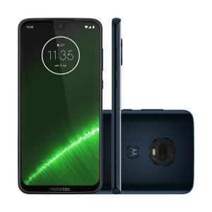 Smartphone Motorola Moto G7 Plus Índigo XT1965 64GB - R$1158