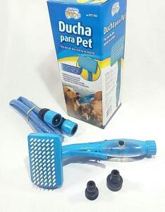 Ducha Pet com reservatório para Shampoo e Mangueira | R$59