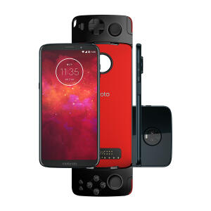 Smartphone Moto Z3 Play Gamepad 64GB | R$1299