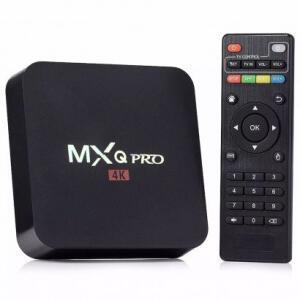 Smart TV Box MXQ Android 6.0 4K Pro Preto - R$85
