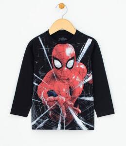Camiseta Infantil com Estampa Homem Aranha