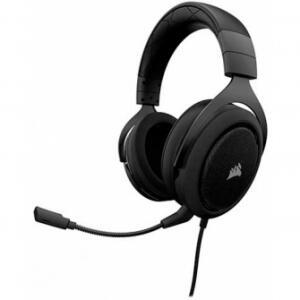 HEADSET GAMER CORSAIR HS50 STEREO CARBON CA-9011170-NA - R$188