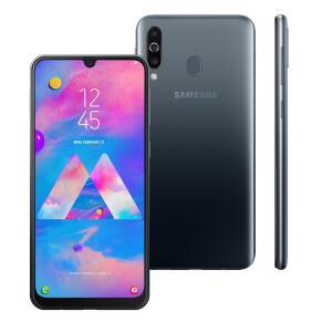 Smartphone Samsung Galaxy M30 Preto 64GB - R$959