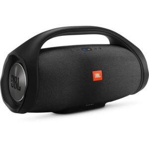 Caixa de Som Portátil JBL Boombox com Bluetooth, Connect+, À prova d'água - Preta - R$1467
