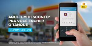 [1° uso] Abasteça nos postos Shell com Mercado Pago