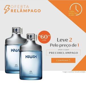 2 Desodorante Colônia Kaiak Masculino - 100ml   R$122