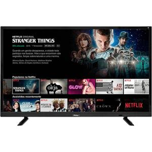 "Smart TV LED 32"" Philco PTV32E21DSWN HD   R$763"