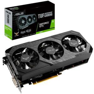 Placa de Vídeo Asus TUF3 NVIDIA GeForce GTX 1660 6GB GDDR5 - TUF3-GTX1660-A6G-GAMING