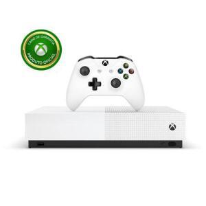 Novo Console Xbox One S All Digital Edition 1tb 4k + Controle Sem Fio - Microsoft R$1.069
