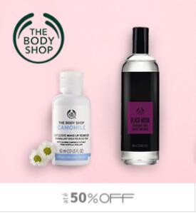 The Body Shop com até 50%OFF +10% no cupom na Dinda