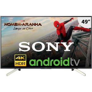 "[CC Amer] Smart TV Android LED 49"" Sony KD-49X755F Ultra HD 4k | R$2.099"