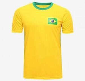 Camisa Brasil Masc. Natural cotton