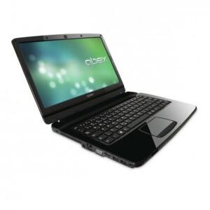 "Notebook QBEX NX515 14"" AMD C-60 RAM 2GB HD 320GB Windows 8 Preto   R$793"
