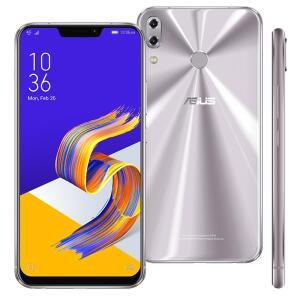 Smartphone Asus Zenfone 5Z Prata 256GB 8GB RAM - R$2429