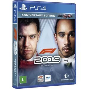 [Cartao Americanas + AME] Jogo PS4 - F1 2019 Anniversary Edition