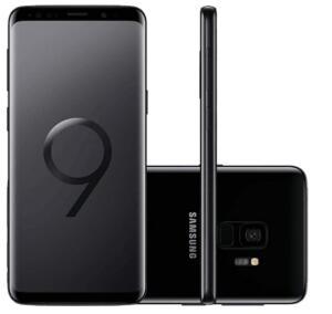[Com AME R$1.690] Smartphone Samsung Galaxy S9 - Preto | R$1.799
