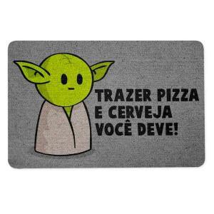 Capacho Star Wars Mestre Mini-Yoda   R$50