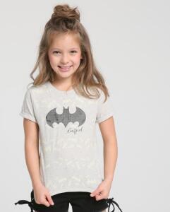 Camiseta Infantil  Interativa Batgirl | R$30