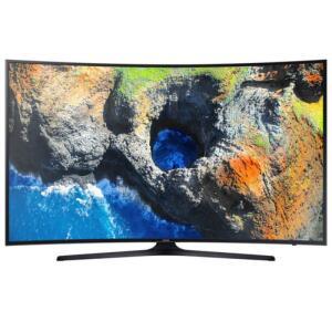 "Smart TV Samsung LED Curved 55"" 4K 55MU6300 - R$2706"
